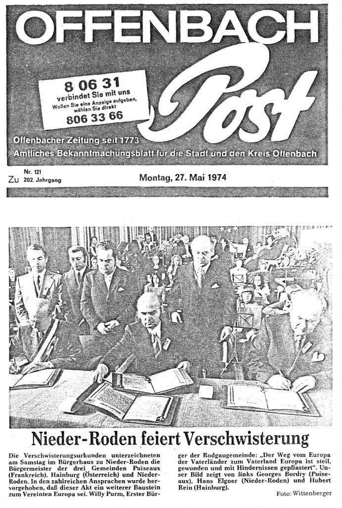 19740527_Zeitungsausschnitt Offenbach-Post