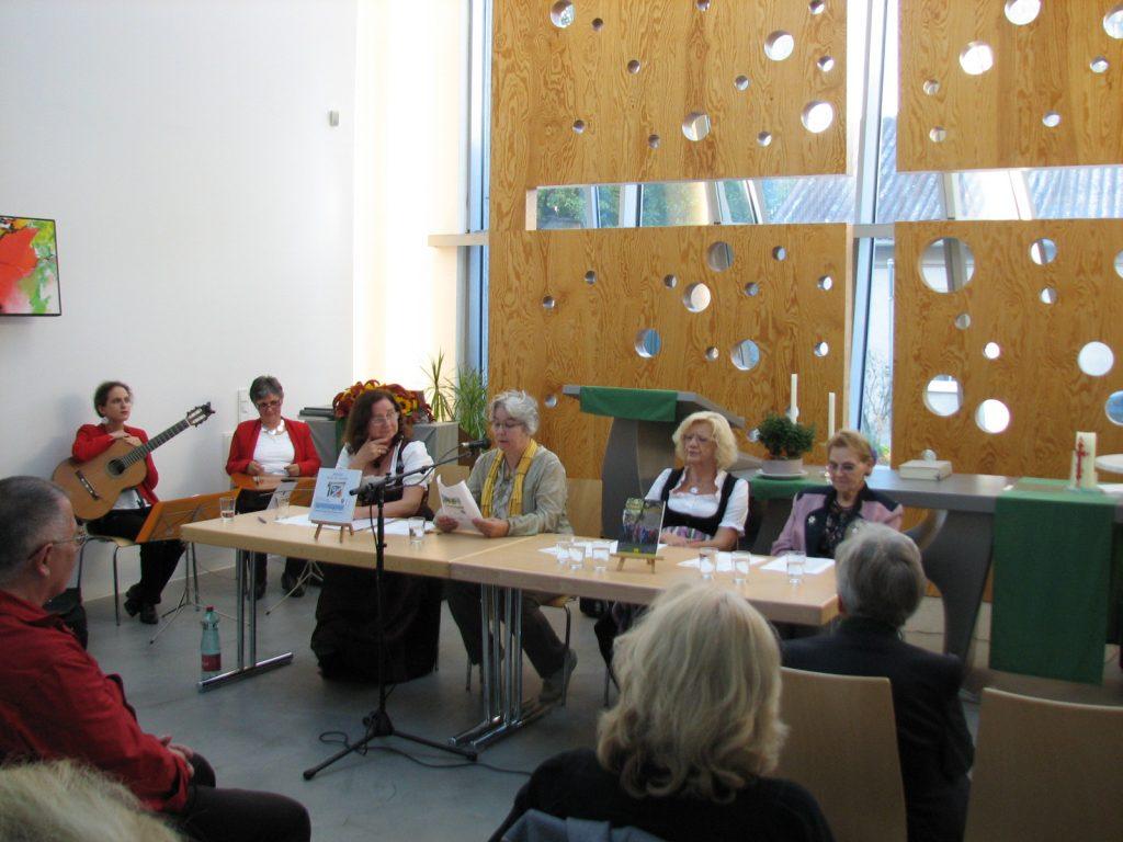 Hainburger Autorenrunde in der ev. Kirche Hainburg