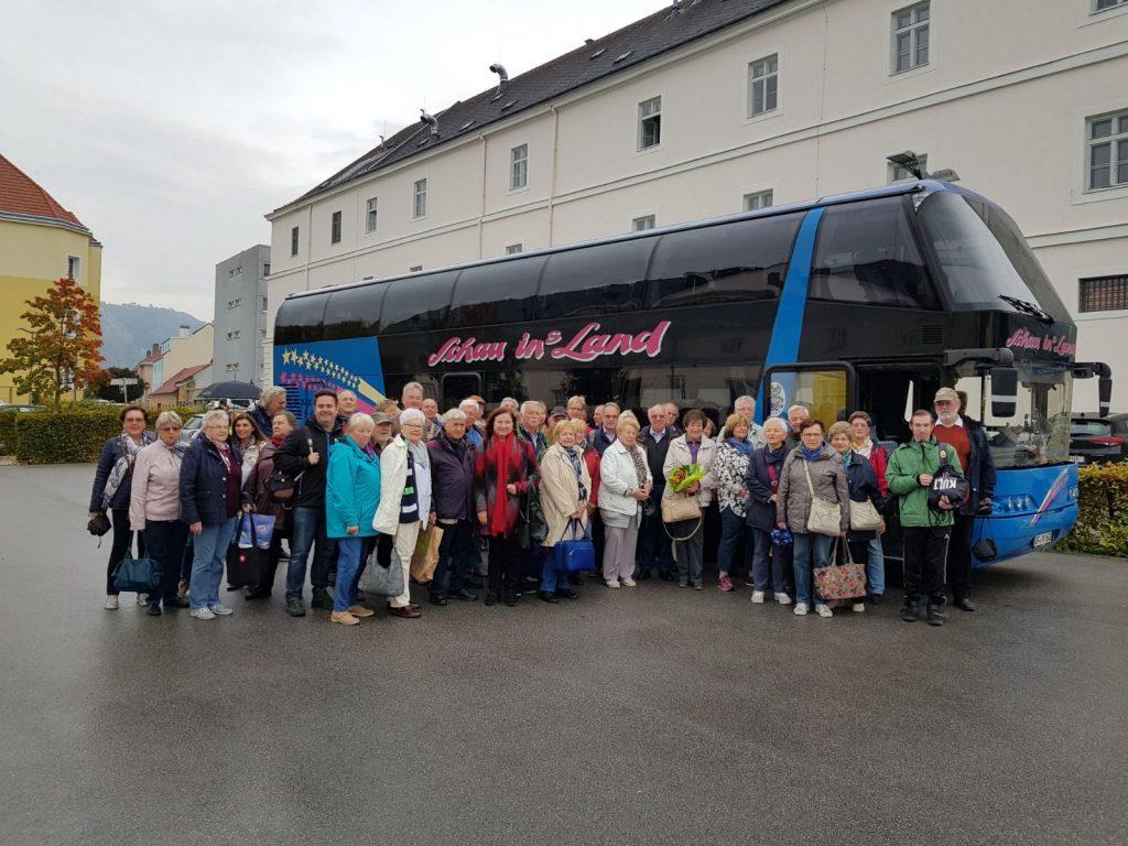Im Doppeldeckerbus von Rodgau nach Hainburg